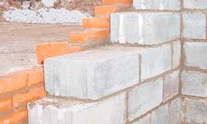 Толщина стен из пеноблоков: для дома, для наружных стен