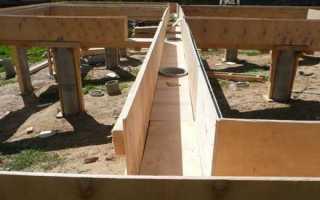 Ленточный фундамент на сваях: строительство, плюсы и минусы