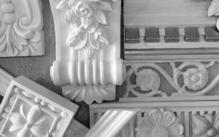 Лепнина из гипса: оригинальность, роскошь и изящество в современном интерьере