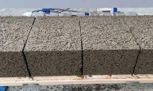 Толщина стен из арболита