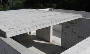 Опирание плиты перекрытия на стену из газосиликатных блоков: монтаж, укладка